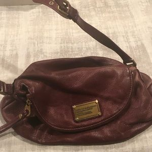 Marc Jacobs Burgundy Crossbody Bag